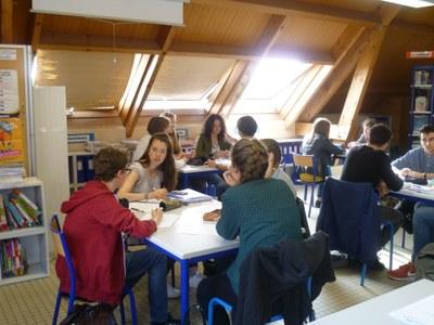 CDI Lycée Notre-Dame Mantes
